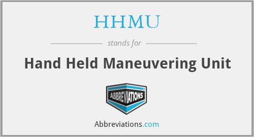 HHMU - Hand Held Maneuvering Unit