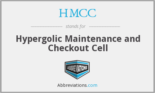 HMCC - Hypergolic Maintenance and Checkout Cell