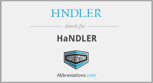HNDLER - Handler