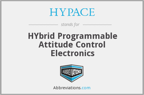 HYPACE - Hybrid Programmable Attitude Control Electronics