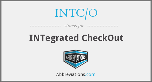 INTC/O - Integrated Checkout