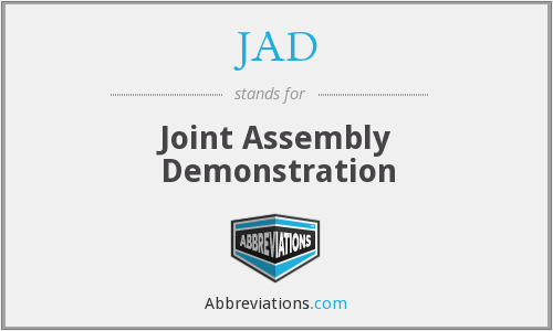 JAD - Joint Assembly Demonstration