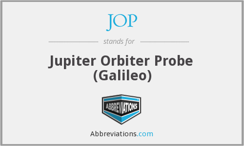 JOP - Jupiter Orbiter Probe (Galileo)