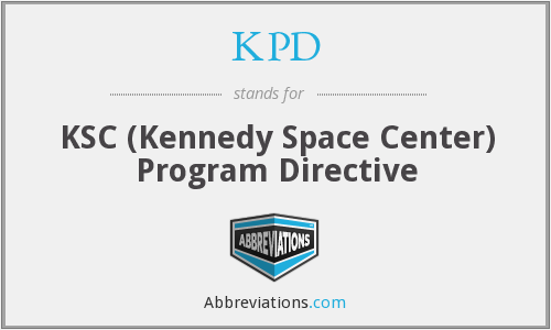 KPD - KSC (Kennedy Space Center) Program Directive