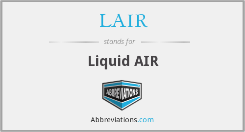 LAIR - Liquid AIR