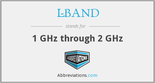 L-BAND - 1 GHz through 2 GHz
