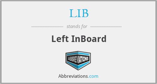 LIB - Left InBoard