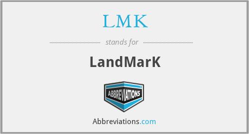 LMK - Landmark