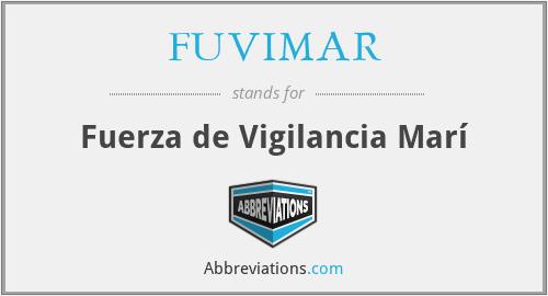 FUVIMAR - Fuerza de Vigilancia Marí