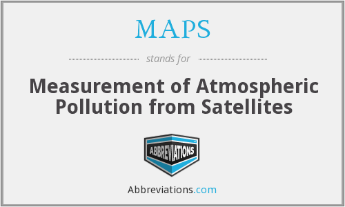 MAPS - Measurement of Atmospheric Pollution from Satellites