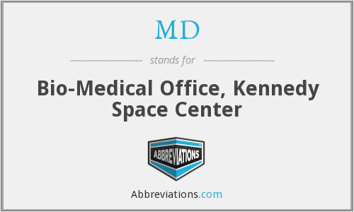 MD - Bio-Medical Office, Kennedy Space Center