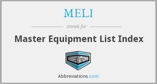 What does MELI stand for?