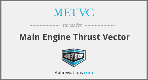 What does METVC stand for?