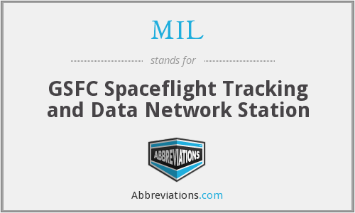 MIL - GSFC Spaceflight Tracking and Data Network Station