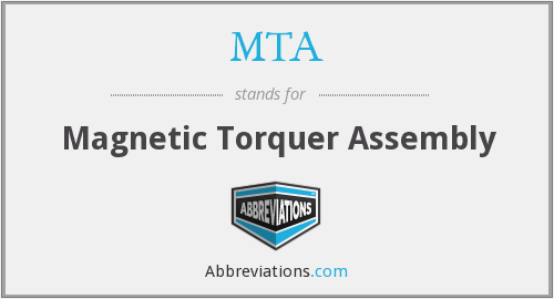 MTA - Magnetic Torquer Assembly