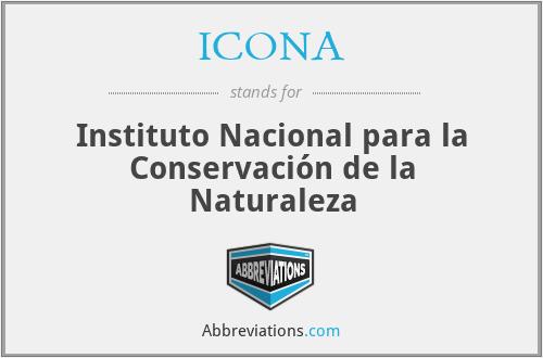 ICONA - Instituto Nacional para la Conservación de la Naturaleza