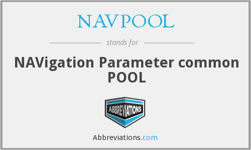 What does NAVPOOL stand for?