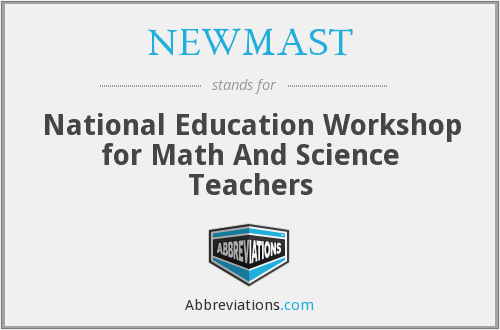 What does NEWMAST stand for?