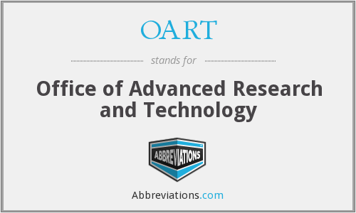 What does OART stand for?