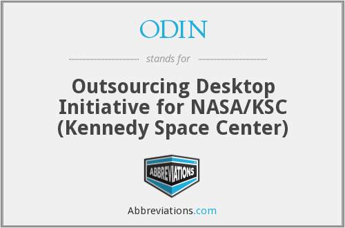 ODIN - Outsourcing Desktop Initiative for NASA/KSC (Kennedy Space Center)