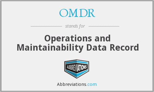 What does OMDR1 stand for?