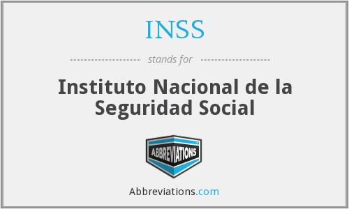 What does INSS stand for?