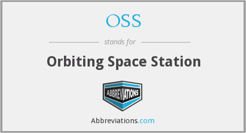 OSS - Orbiting Space Station