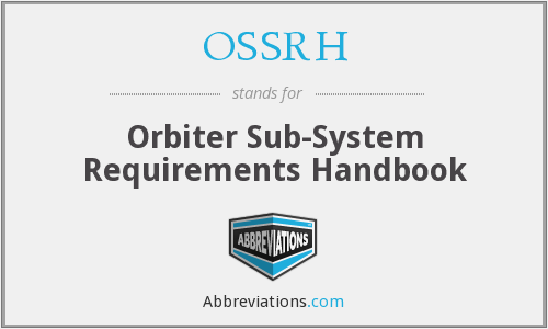 What does OSSRH stand for?