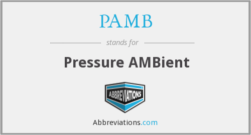 What does PAMB stand for?