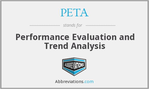 PETA - Performance Evaluation and Trend Analysis