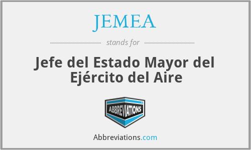 JEMEA - Jefe del Estado Mayor del Ejército del Aire