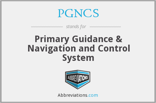 What does PGNCS stand for?