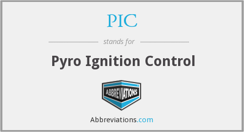 PIC - Pyro Ignition Control