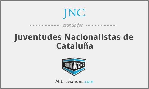 JNC - Juventudes Nacionalistas de Cataluña