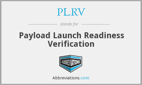 What does PLRV stand for?