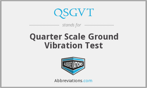 What does QSGVT stand for?