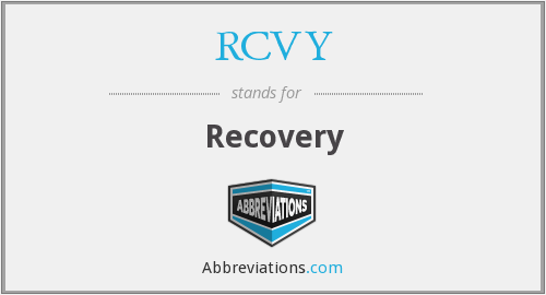 RCVY - Recovery