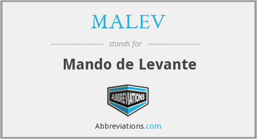 What does MALEV stand for?