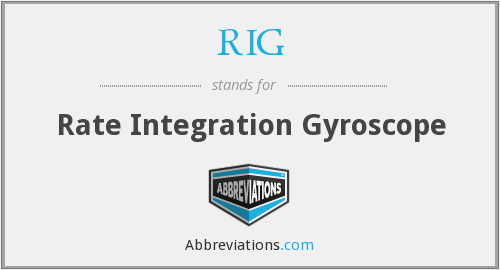 RIG - Rate Integration Gyroscope