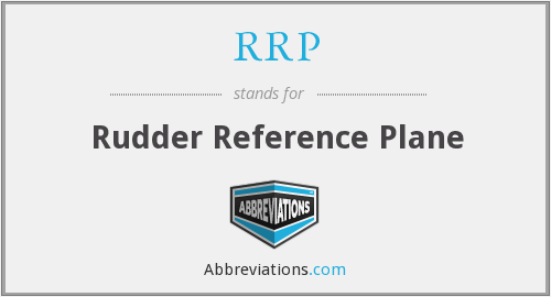 RRP - Rudder Reference Plane