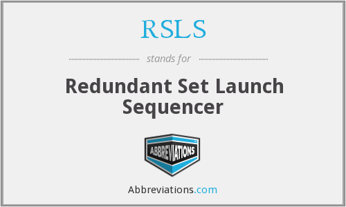RSLS - Redundant Set Launch Sequencer