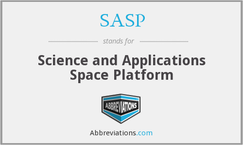SASP - Science and Applications Space Platform