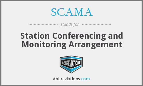 SCAMA - Station Conferencing and Monitoring Arrangement
