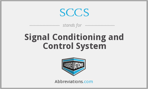 SCCS - Signal Conditioning and Control System