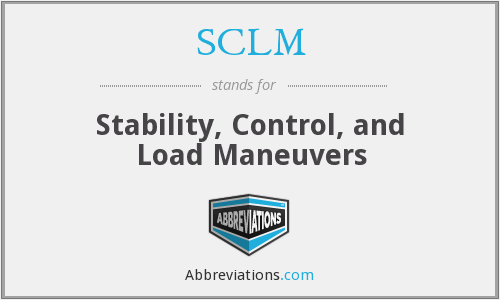 What does SCLM stand for?
