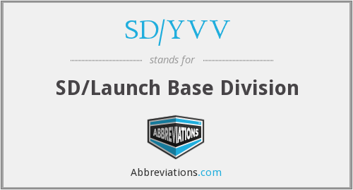 What does SD/YVV stand for?