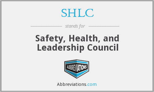 What does SHLC stand for?