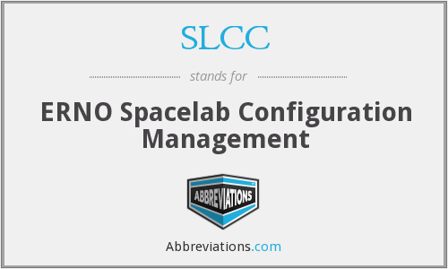 SLCC - ERNO Spacelab Configuration Management