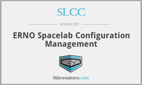 SLCC - ERNO Spacelab Configuration Management