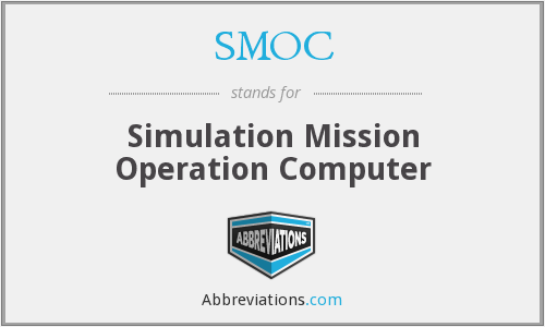 SMOC - Simulation Mission Operation Computer